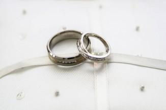 wedding photography bride london rings